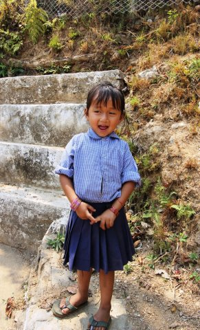 A Primary Schoolgirl
