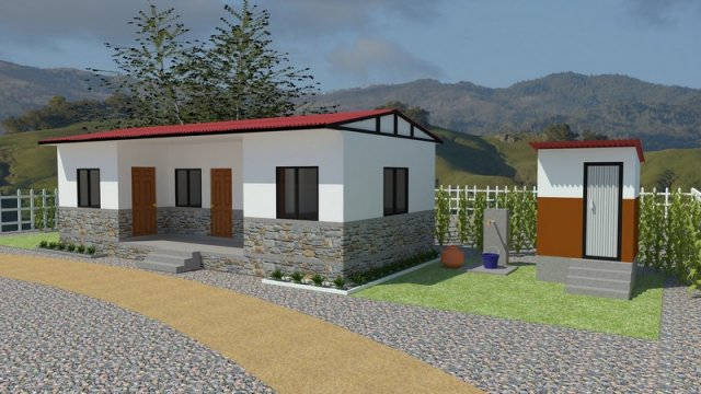 Rebuild Home Gorkha Designs Four Room House Sambhav Nepal