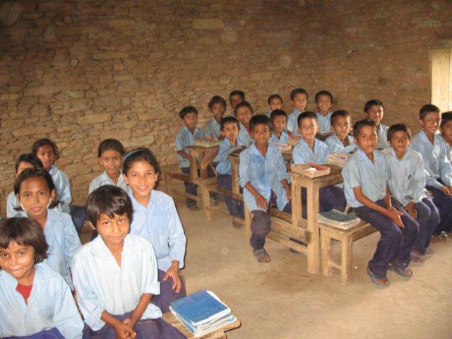 A classroom shot (4th grade)