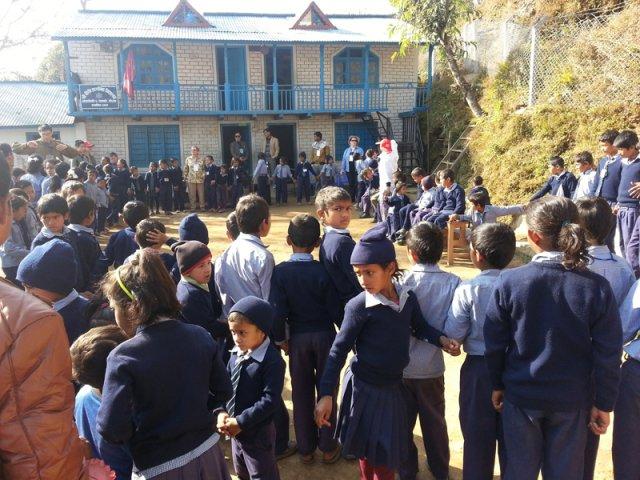 Bhairabhi Primary School Premises