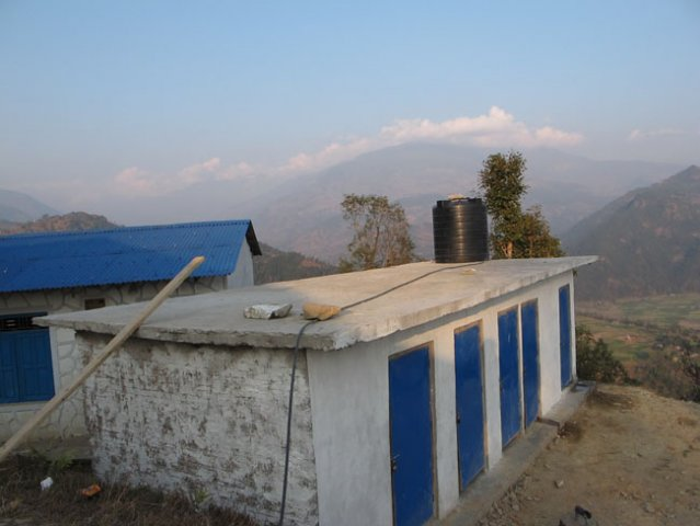 Dharapani School Toilet Project