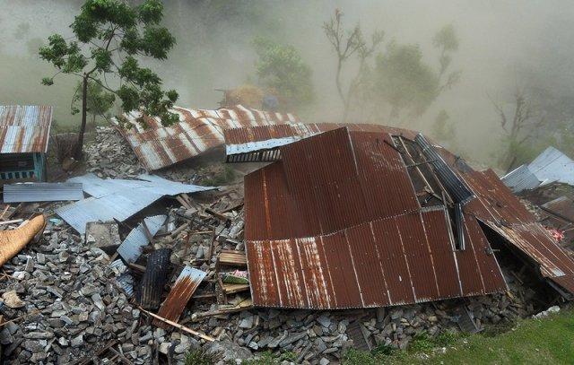 Fallen roofs