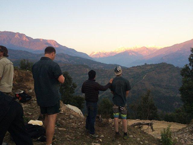 Himalayas from Arupokhari