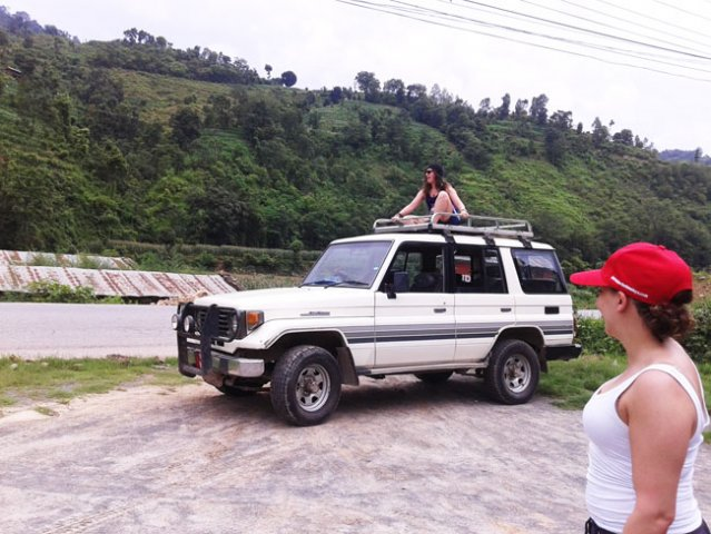 On the way to Arupokhari