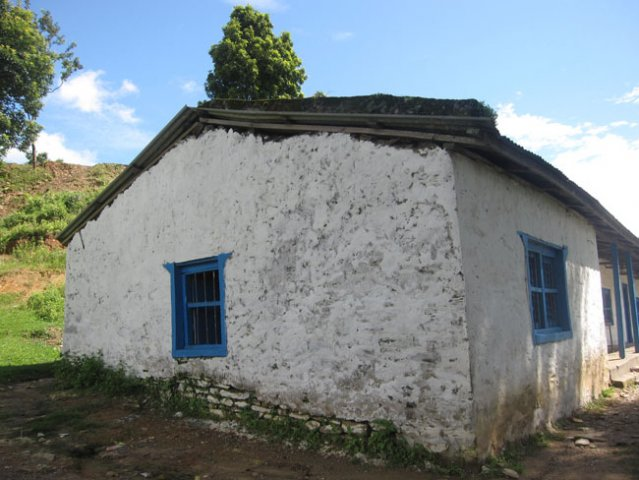 Painted walls of the School
