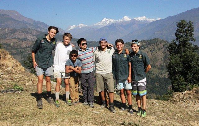 Photo with Sambhav's Founder Prem