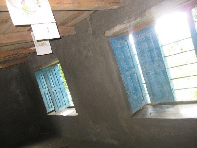 Plastered Classroom