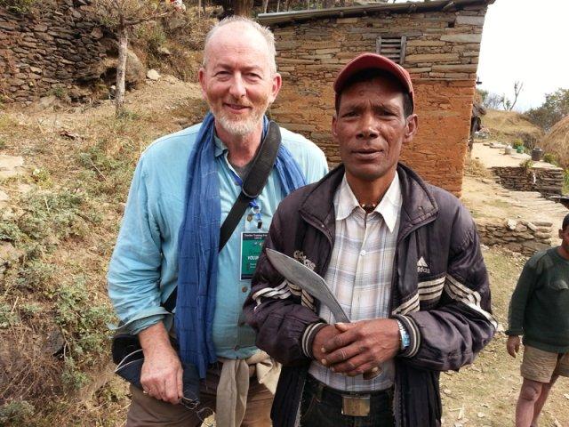 The Local with his Khukuri