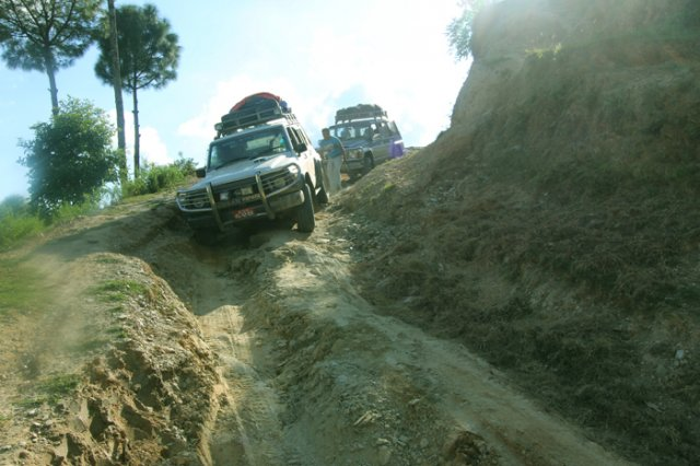 The Rugged ride to Arupokhari