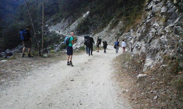 Trekking to Annapurna