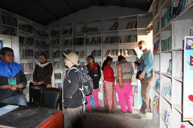 Visit to Dharapani Community Library
