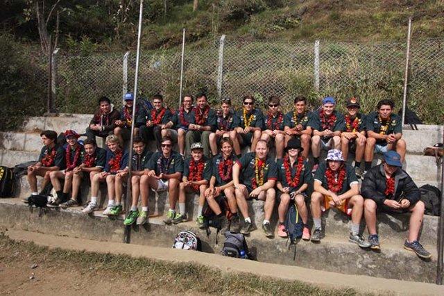Volunteers at Bhairabi School
