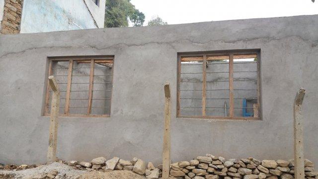 plastered room of Bhairabi image