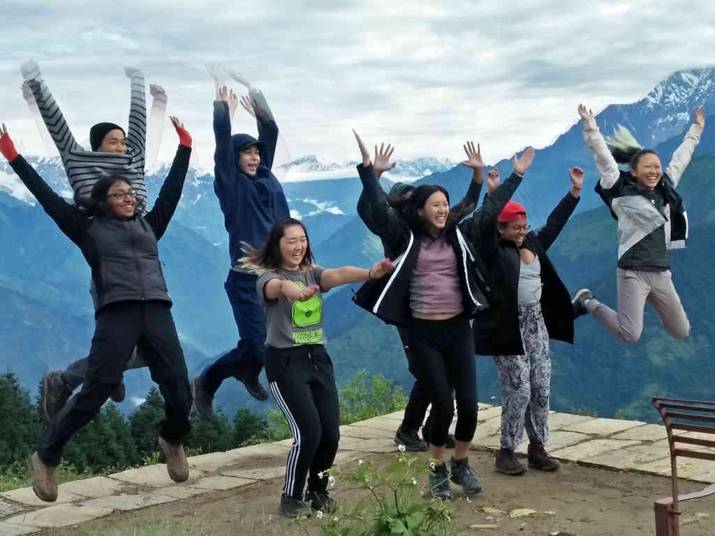 Lets fly high, Annapurna