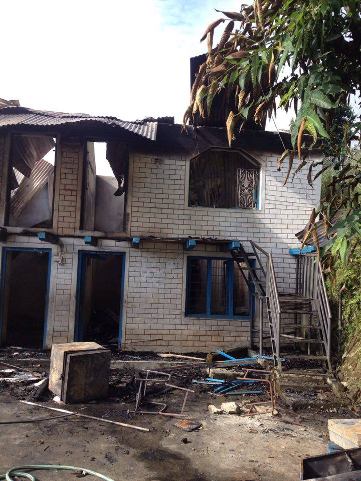Bhairabi after Fire Accident
